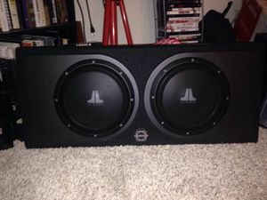 "JL AUDIO HOUSE 10"" SUBS for Sale in San Diego, CA"