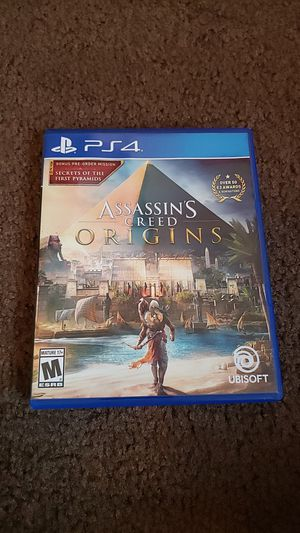 Assassin's Creed Origins Playstation 4 for Sale in Chandler, AZ