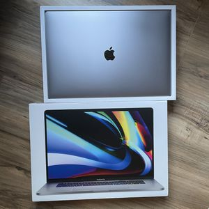 NEW 2020 16-inch MacBook Pro 512GBSSD 6-Core i7 Retina Touch Bar + Apple Warranty 2021 for Sale in Los Angeles, CA