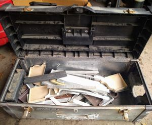 Tool box w/ aluminum scraps Stack On for Sale in Columbus, OH