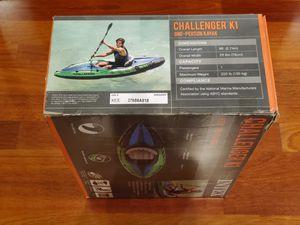 Inflatable kayak Intex Challenger K1 for Sale in Renton, WA