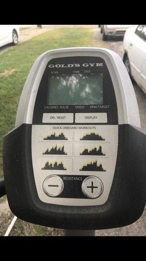 Golds Gym elliptical machine for Sale in Fort Wayne, IN