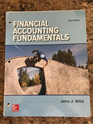 Financial Accounting Fundamentals textbook for Sale in Gardena, CA