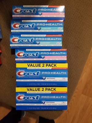Creest toothpaste pro-health for Sale in Fresno, CA