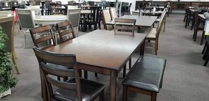 6 pc dining table set for Sale in Burbank, CA