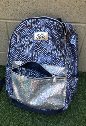 Justice girls backpack for Sale in Baldwin Park, CA