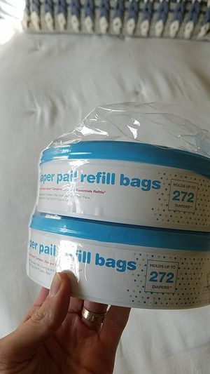 Target diaper pail refill bags . 2 pack for Sale in Castro Valley, CA