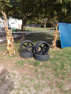"""20"""" Versante rims and tires for Sale in Galloway, OH"""