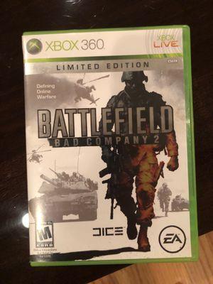 Battlefield bad company 2 Xbox 360 game for Sale in Dallas, TX