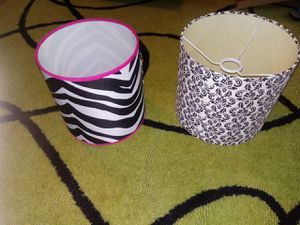 Small and medium lamp shade for Sale in Columbus, OH