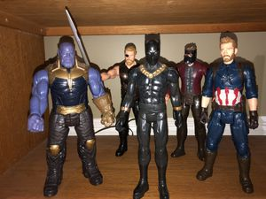 Marvel infinity war titan hero series 12 inch action figures for Sale in Naperville, IL