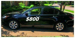 $8OO🔥 Very nice 🔥 2OO9 Honda accord sedan Run and drive very smooth!!! for Sale in Aurora, IL