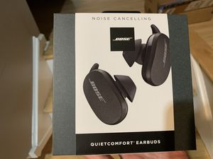 Bose QuietComfort Noise Cancelling Earbuds for Sale in Huntsville, AL