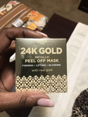 24k gold face mask and serum for Sale in Roseville, CA