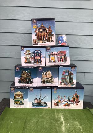 Carole Towne Collection Village Sets for Sale in Prineville, OR