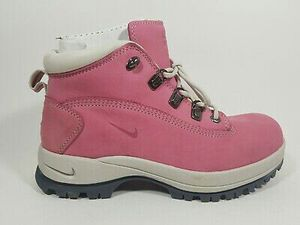 Nike ACG Karst Z Pink Clay Hiking Winter Boots Women's Shoes 303847 662 for Sale in Aurora, IL
