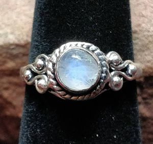 Rainbow Moonstone silver ring size 7.5 for Sale in Vista, CA
