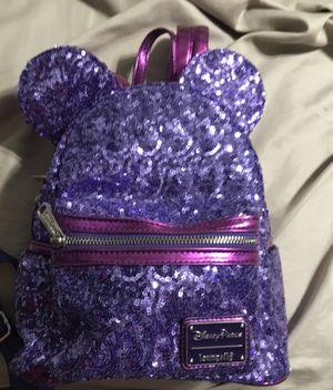 Loungefly disney purple backpack for Sale in Baldwin Park, CA