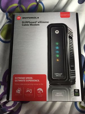Motorola eXtreme cable modem LIKE NEW for Sale in Rockville, MD