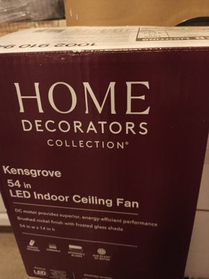 REALLY NICE HOME DECORATORS CEILING FAN for Sale in Oregon City, OR