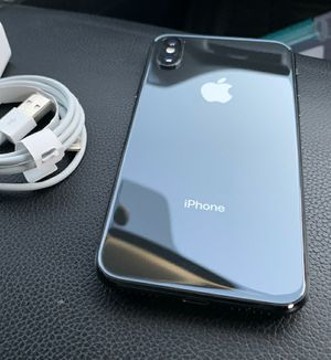 iPhone X,64 GB - just like new, factory unlocked, clean IMEI for Sale in Springfield, VA