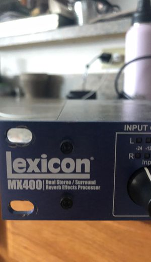 Lexicon MX400 Dual Stereo Reverb Processor for Sale in Lincoln, MA