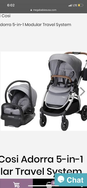 Maxi Cosi Adorra Travel system,car seat,stroller,car seat base,bassinet,baby stuff,baby clothes,baby toys for Sale in Riverside, CA