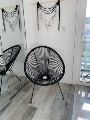 Patio Balcony Chair, Modern Outdoor Wicker Chair for Sale in Los Angeles, CA