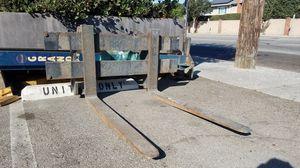 Fork assembly for jcb skid steer for Sale in Rossmoor, CA