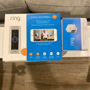 Ring Video Doorbell Pro W/ Transformer! for Sale in Brooklyn, NY