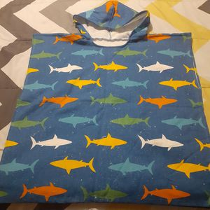 Shark beach towel with hood for Sale in Fort Lauderdale, FL