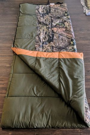 EXXCEL OUTDOORS sleeping bag with size 33 in x 77 in for Sale in Sunnyvale, CA