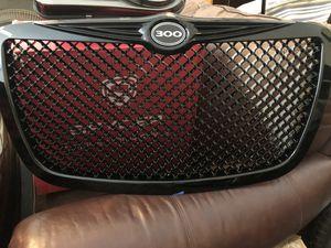 Chrysler 300 black grill insert for Sale in Irwindale, CA