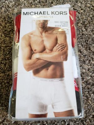 MK SIZE LG BOXER BRIEFS for Sale in Buffalo, NY