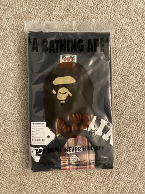 Bape check college tee 3XL Authentic with receipt for Sale in San Ramon, CA