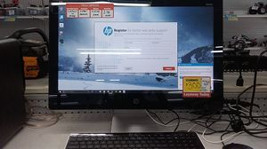 Hp all in one desktop 22a11we touchscreen for Sale in Pompano Beach, FL