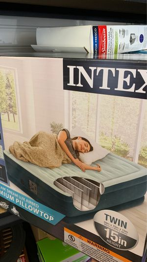 INTEX PREMIUM PILLOWTOP for Sale in Norfolk, VA