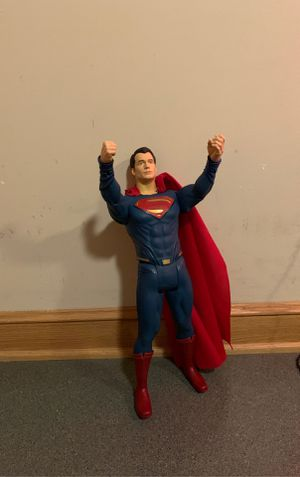 Superman action figure Collectible for Sale in Uniontown, OH