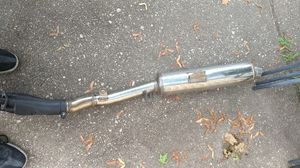 Suzuki motorcycle exhaust full exhaust for Sale in Syosset, NY