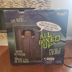 Halloween Animatronics - All Boxed Up for Sale in Aurora, IL