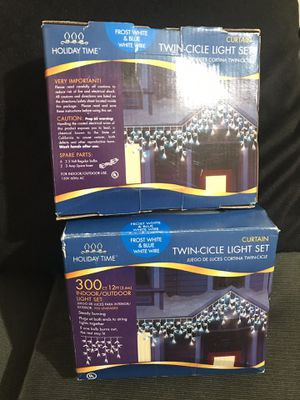 Christmas iCicle Light Set for Sale in Stockton, CA