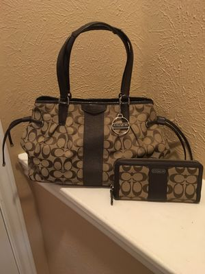Coach Bag and Matching Wallet for Sale in Houston, TX