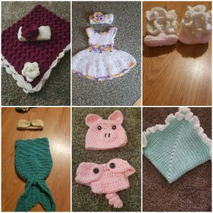 Crochet baby items for Sale in Cleveland, OH