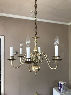 Gold chandelier for Sale in Cleveland, OH