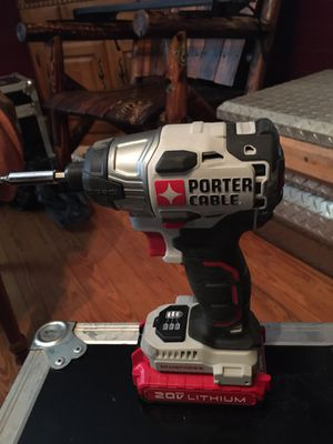 Porter cable empact driver with battery for Sale in Asheboro, NC