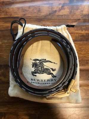 Burberry Mens Belt for Sale in Tacoma, WA