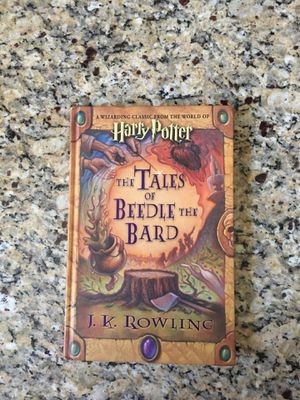 Harry Potter the Tales if Beedle the Bard by J.K. Rowling. Excellent condition. Asking $3 for Sale in Glendale, AZ
