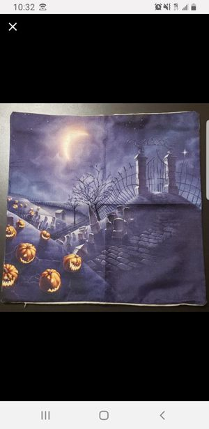18x18 Halloween Pillow Cover for Sale in Mount Airy, GA
