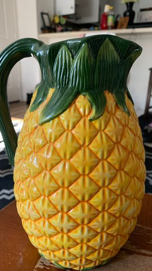 Avon Pineapple Pitcher for Sale in Tustin, CA
