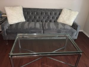 Dining table with chairs living room set lamp end table coffee table for Sale in Woodbridge, VA